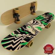 Скейтборд V1 3d model