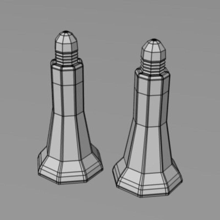 salt+pepper3 royalty-free 3d model - Preview no. 3