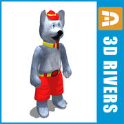 First hockey mascot by 3DRivers 3d model