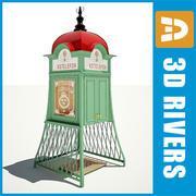 Betaal telefoon 03 door 3DRivers 3d model