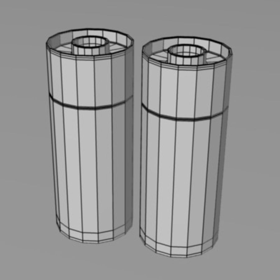 salt+pepper2 royalty-free 3d model - Preview no. 3