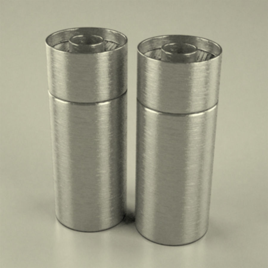 salt+pepper2 royalty-free 3d model - Preview no. 1