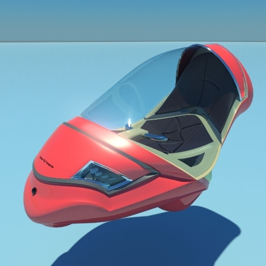 Personal City Transport royalty-free 3d model - Preview no. 1