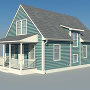 Small House Cold Pontiac 3d model