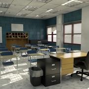 教室2 3d model