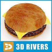 Burger von 3DRivers 3d model
