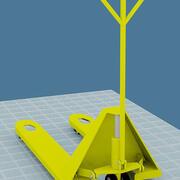 грузоподъемник 3d model