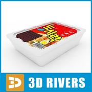 Noodles pack 04 by 3DRivers 3d model