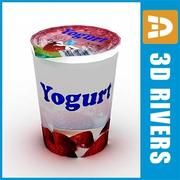 Yogurt pack 01 di 3DRivers 3d model