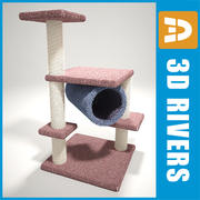 Cat tree by 3DRivers 3d model
