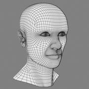Tête masculine 3d model
