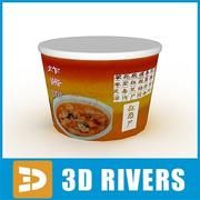 Noodles pack 05 by 3DRivers 3d model