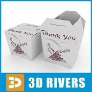 Noodles pack 01 by 3DRivers 3d model
