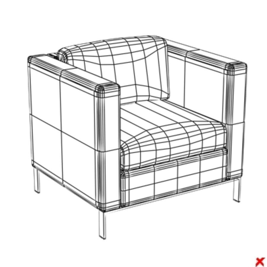 Armchair118 ZIP 3D Model $18 -  dxf  3ds  max - Free3D