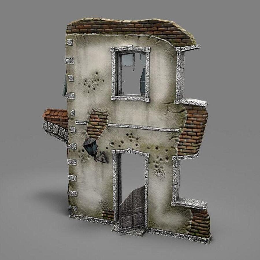 Ruina B royalty-free 3d model - Preview no. 3