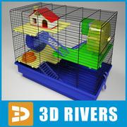 Hamster kooi door 3DRivers 3d model