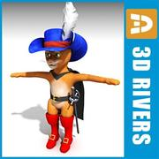 Gato de Botas por 3DRivers 3d model
