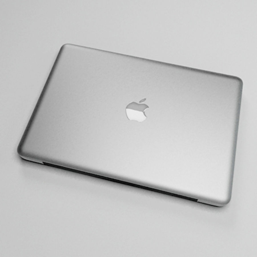 macbook pro notebook 13 inch royalty-free 3d model - Preview no. 6