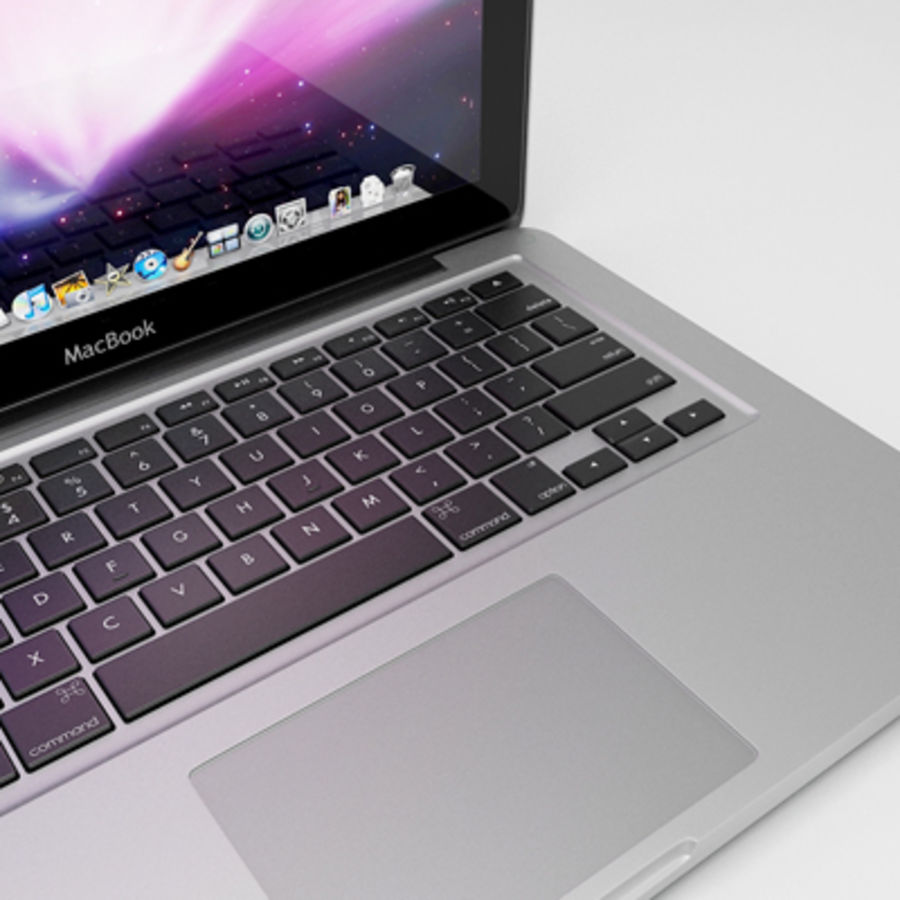 macbook pro notebook 13 inch royalty-free 3d model - Preview no. 13
