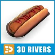 Hot dog by 3DRivers 3d model