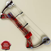 Compound bow 3d model