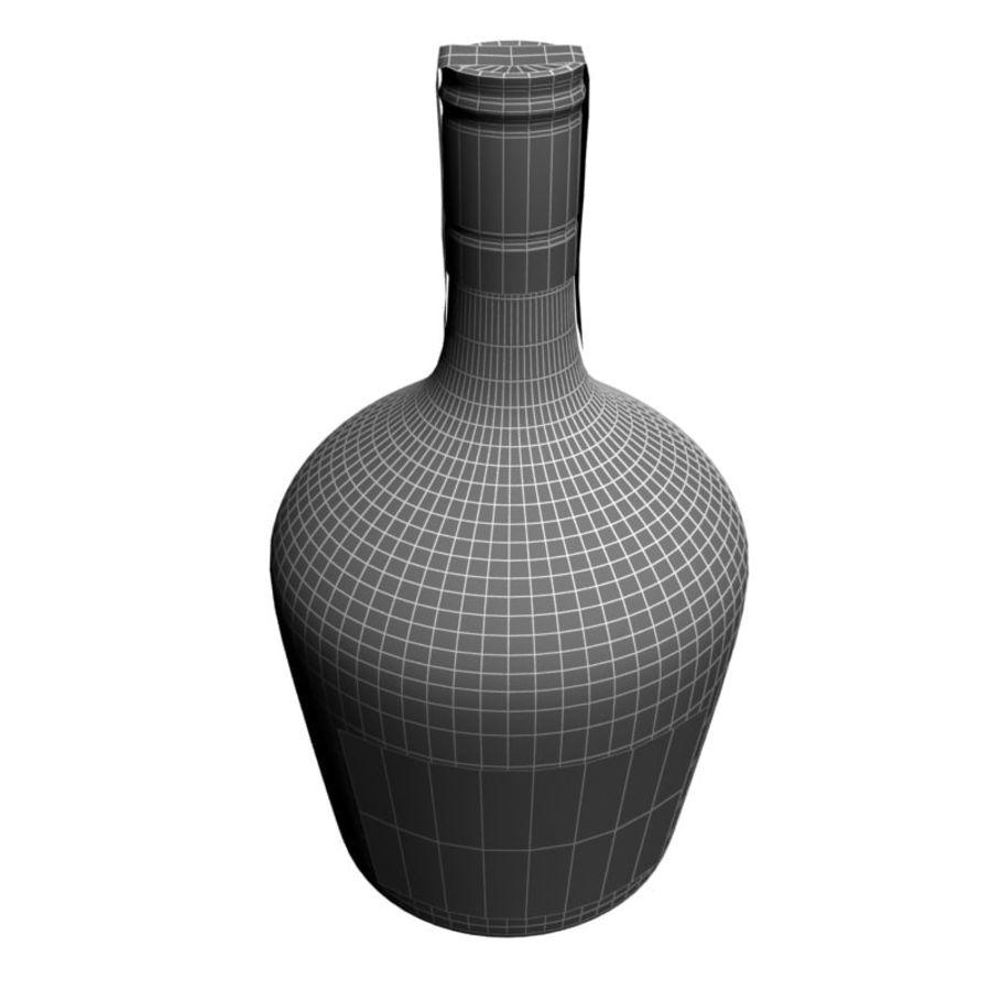Бутылка вина royalty-free 3d model - Preview no. 6