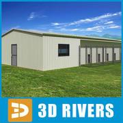 Kennel van 3DRivers 3d model