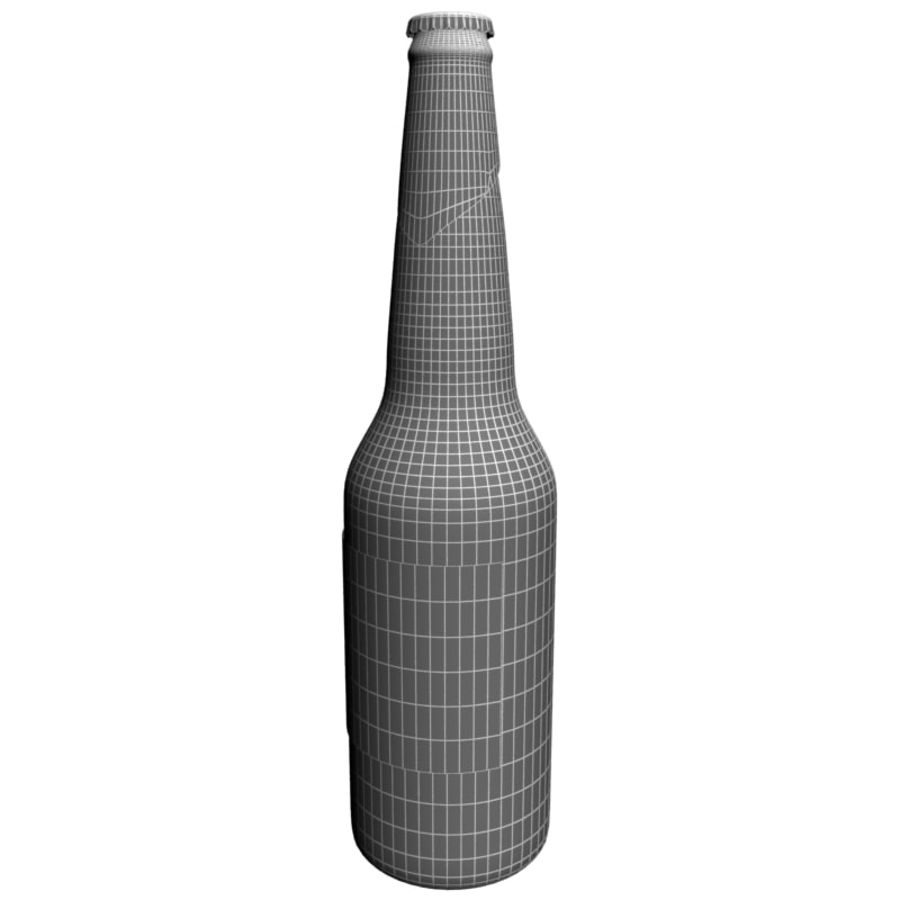 Beer botle kozel royalty-free 3d model - Preview no. 6