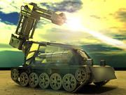 現代のタンク 3d model