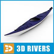 Kayak 02 par 3DRivers 3d model