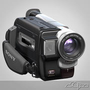 Video Camera Handycam Sony 3d model