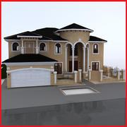 BIG Latin Hacienda Modern 3d model