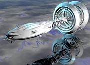 Gravity Drive Ringship 3d model
