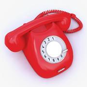 Retro-Telefon 3d model