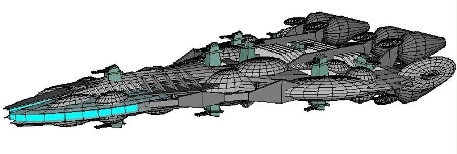 Śmigłowiec bojowy royalty-free 3d model - Preview no. 9