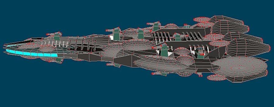Śmigłowiec bojowy royalty-free 3d model - Preview no. 6