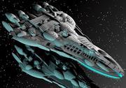 Navio de Armas 3d model