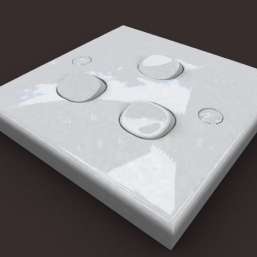switch 3b royalty-free 3d model - Preview no. 5
