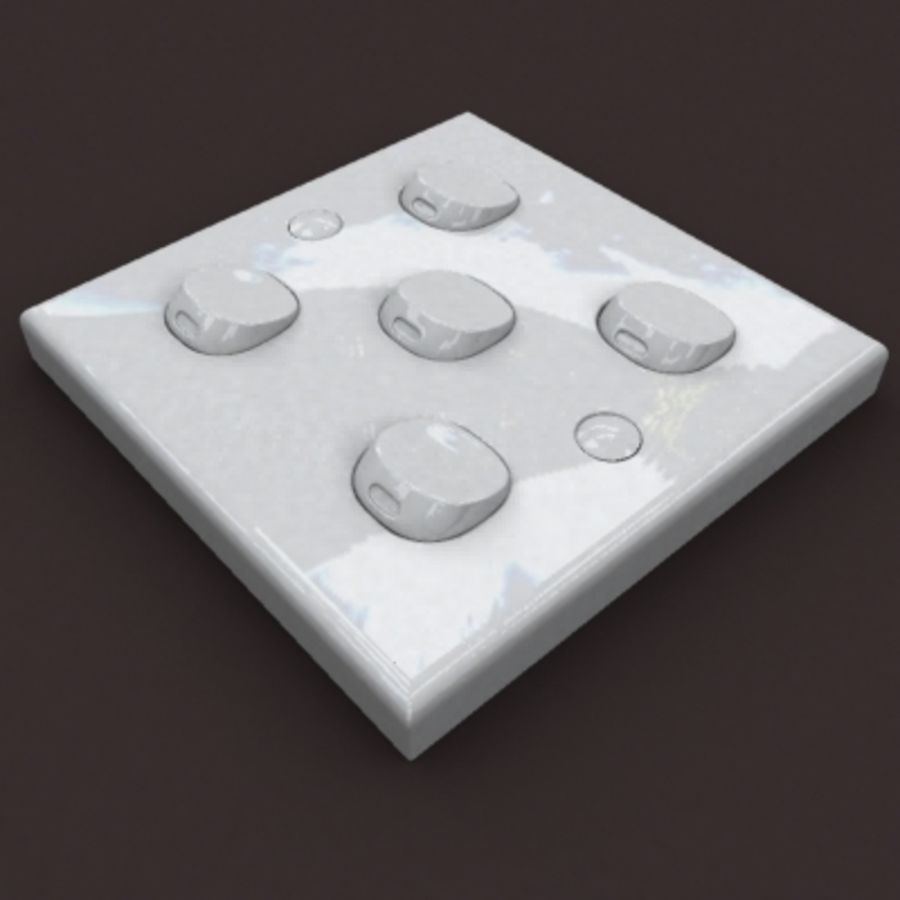 switch 5b royalty-free 3d model - Preview no. 2