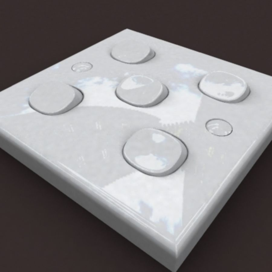 switch 5b royalty-free 3d model - Preview no. 5