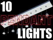 10 hanglampen. Max 3d model