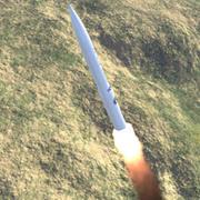 LGM-30 Minuteman 3  ICBM 3d model