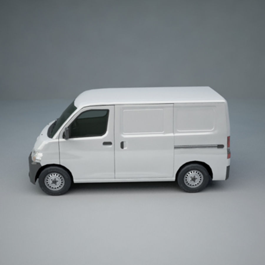 Toyota Van royalty-free 3d model - Preview no. 2