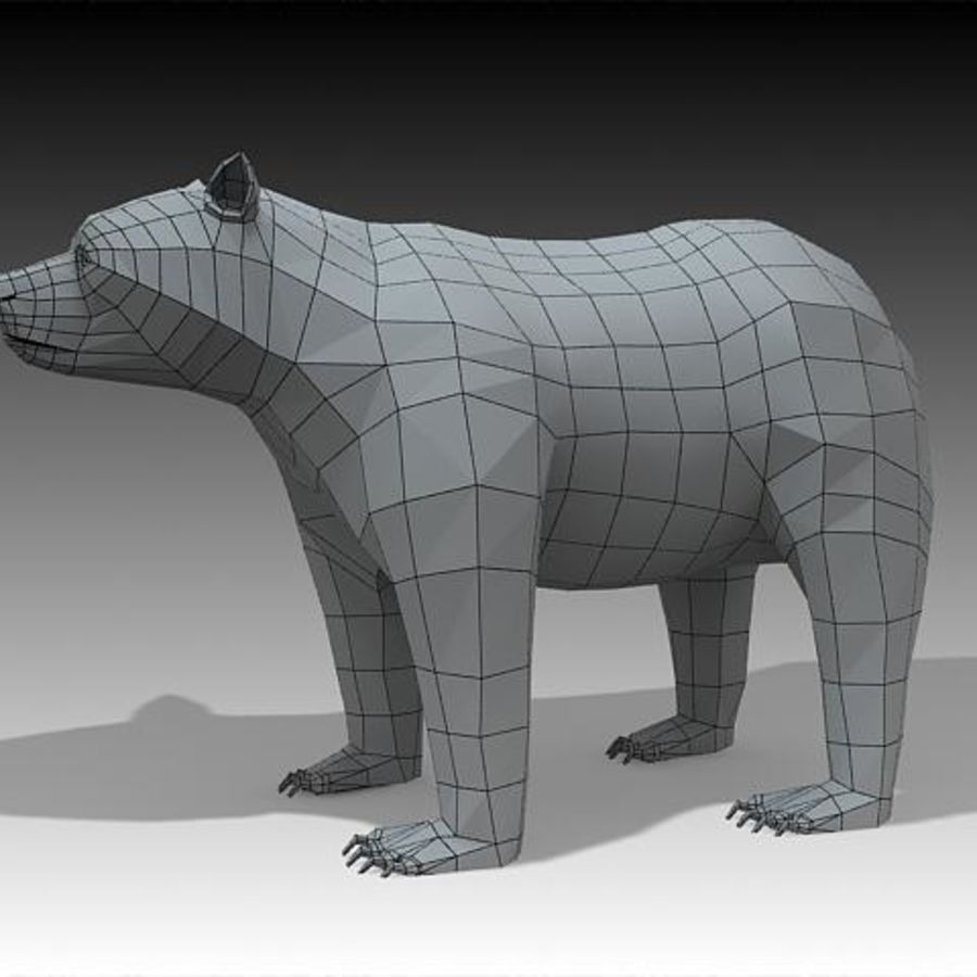 Bear royalty-free 3d model - Preview no. 1