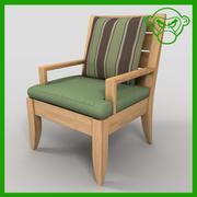 cadeira de braço 3d model