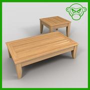 koffie tafels 3d model