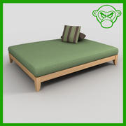 day bed 3d model