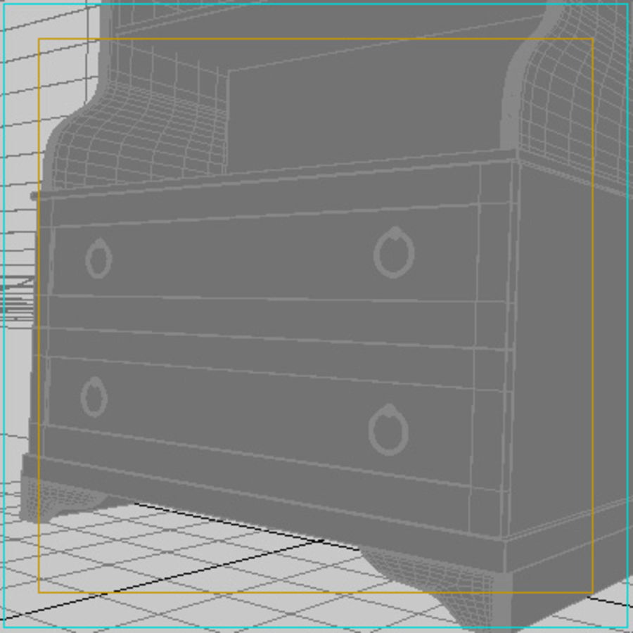 closet2.max royalty-free 3d model - Preview no. 2