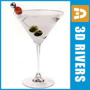Dirty martini by 3DRivers 3d model