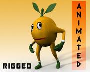 манго / лимон / вишня человек 3d model